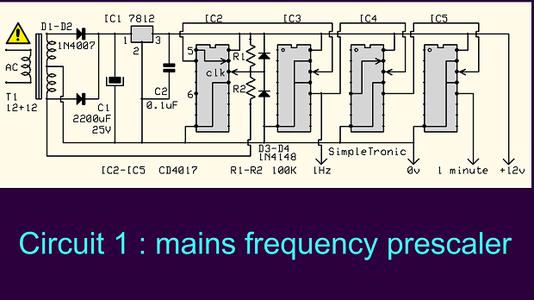 Circuit Diagram (part 1) & Main Components