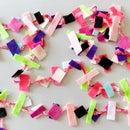DIY Confetti Garland