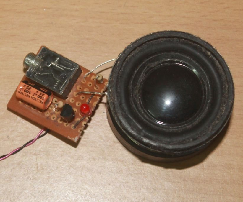 USB Portable Speaker With Amplifier