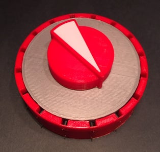 Mostly 3D Printed Rotary Switch