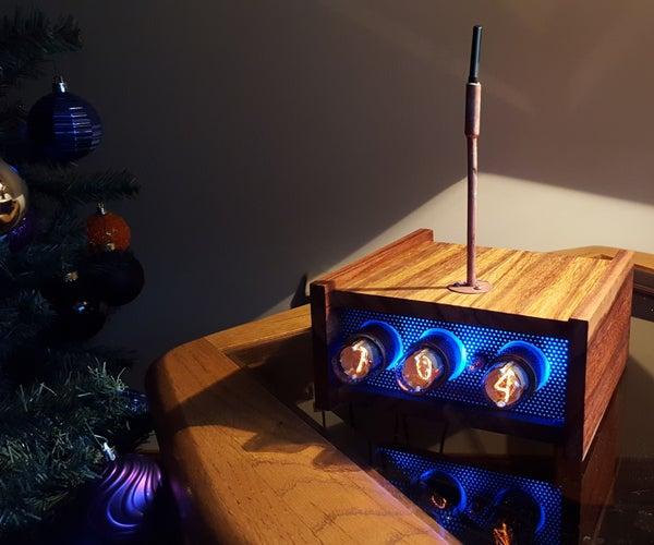Nixie Tube Arduino Uno Driven Thermometer