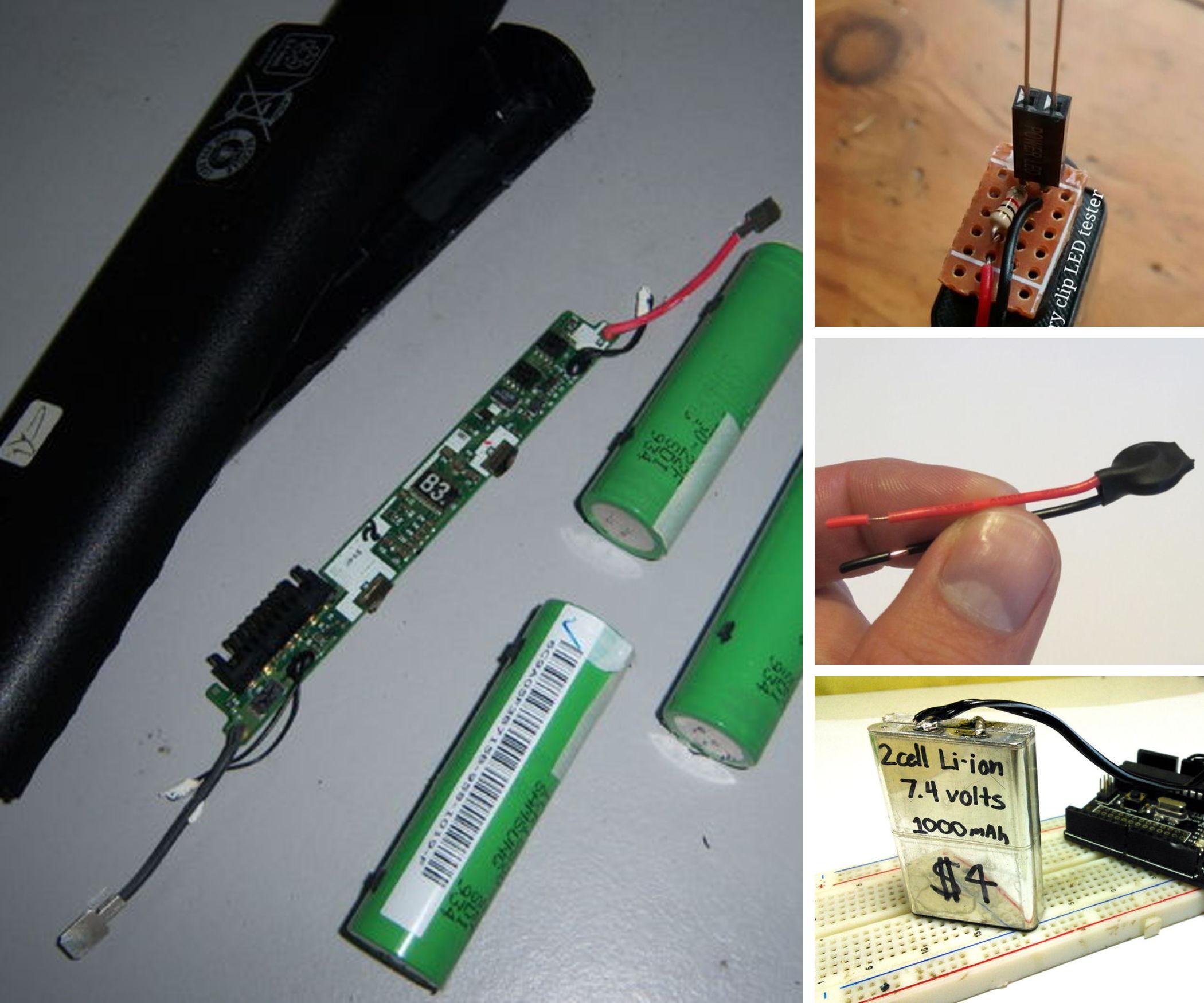 DIY and Repurposed Batteries & Power