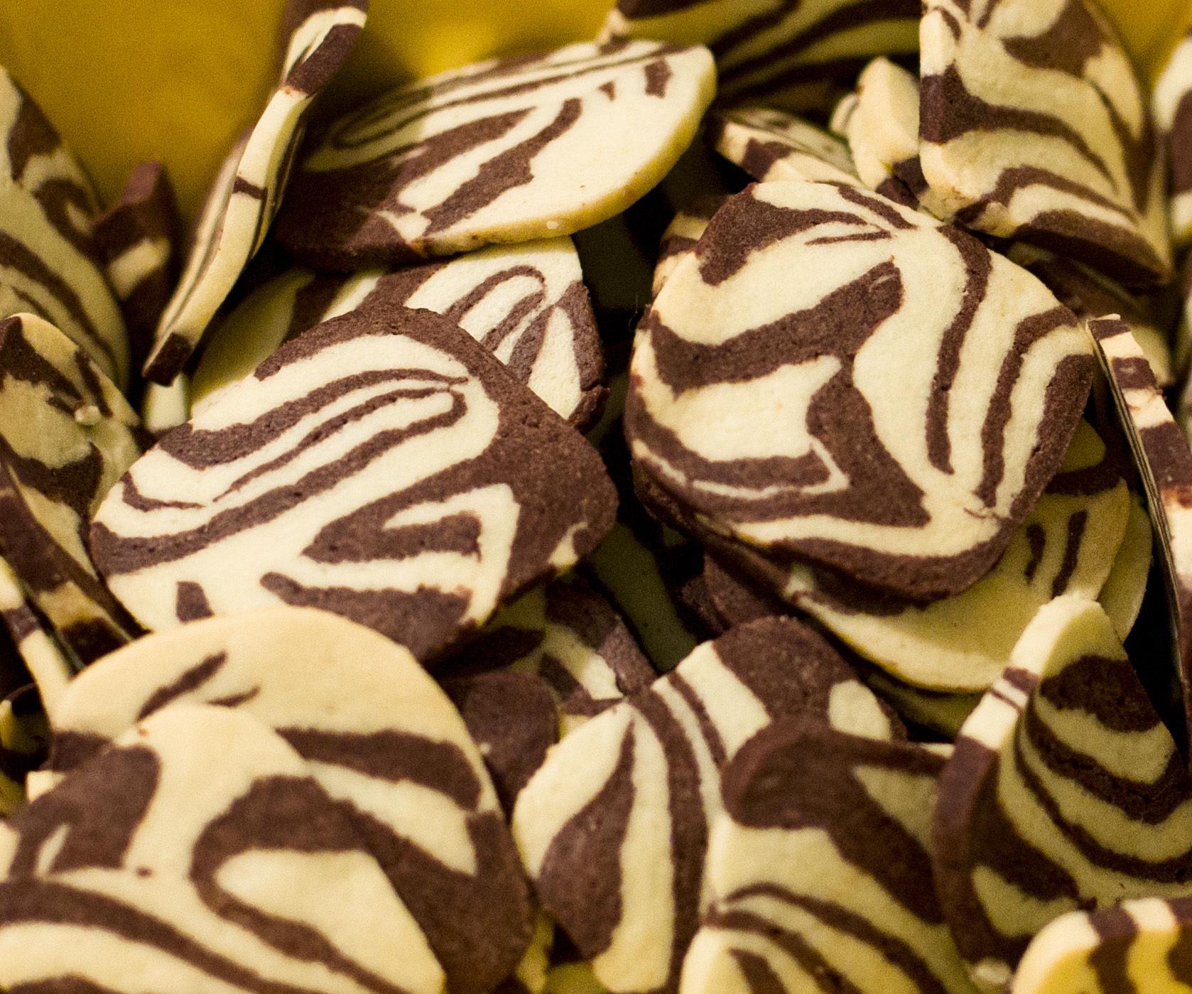 Zebra cookie