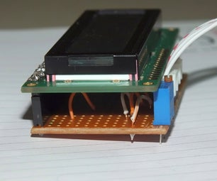 Vero Board Breakout for LCD Character Display