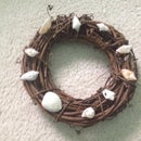How To Make A Shell Wreath