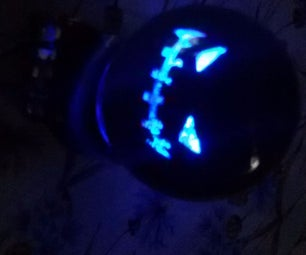 Scary Snow Globe