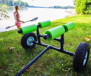 Making a PVC Kayak Cart - DIY