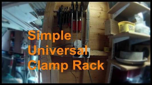 Simple Universal Clamp Rack