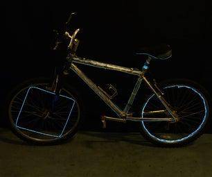 EZ-EL Wire Bicycle Designs Step-By-Step Tutorial!