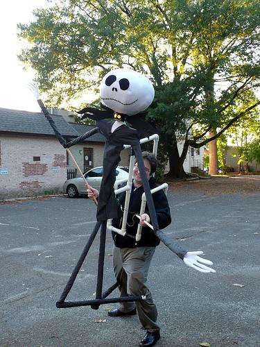 8' Jack Skellington Puppet