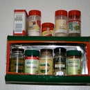 Wall Mounted Oil Tin Spice Rack