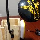 Desktop Organizer and Lamp