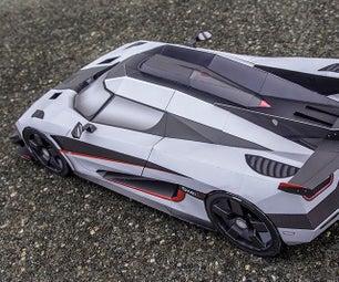 Koenigsegg One:1 DIY Paper-Mega-Craft