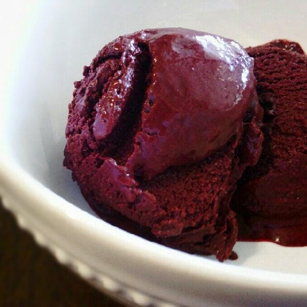 Boysenberry Chocolate Sorbet