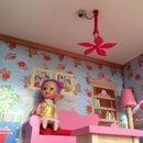 Dollhouse fan 3D printed
