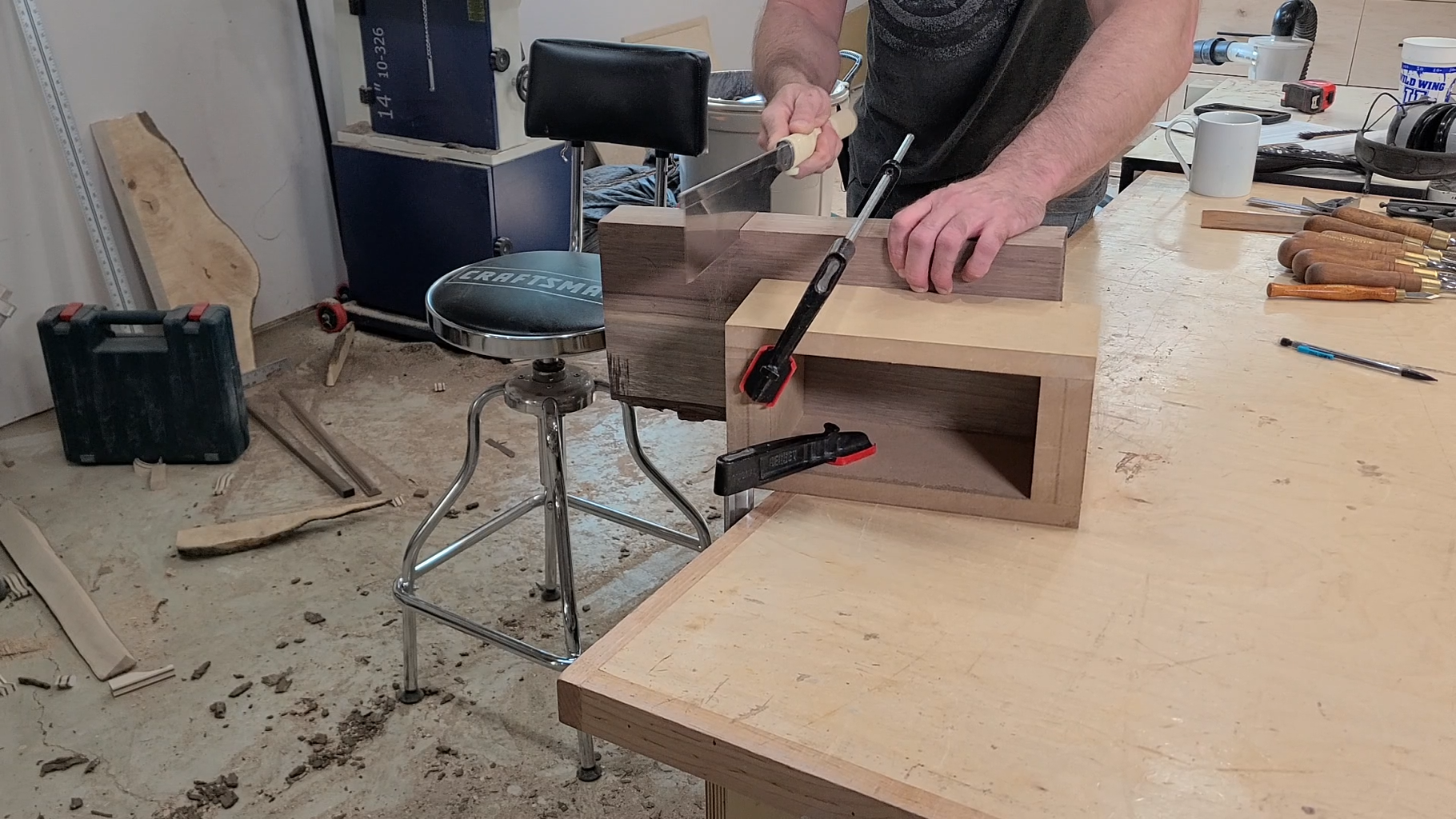 Prepping the Wooden Box