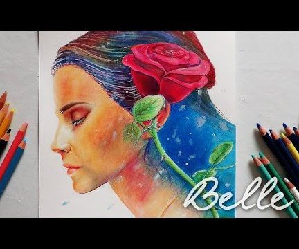 Beauty and the Beast - BELLE - Painting Process