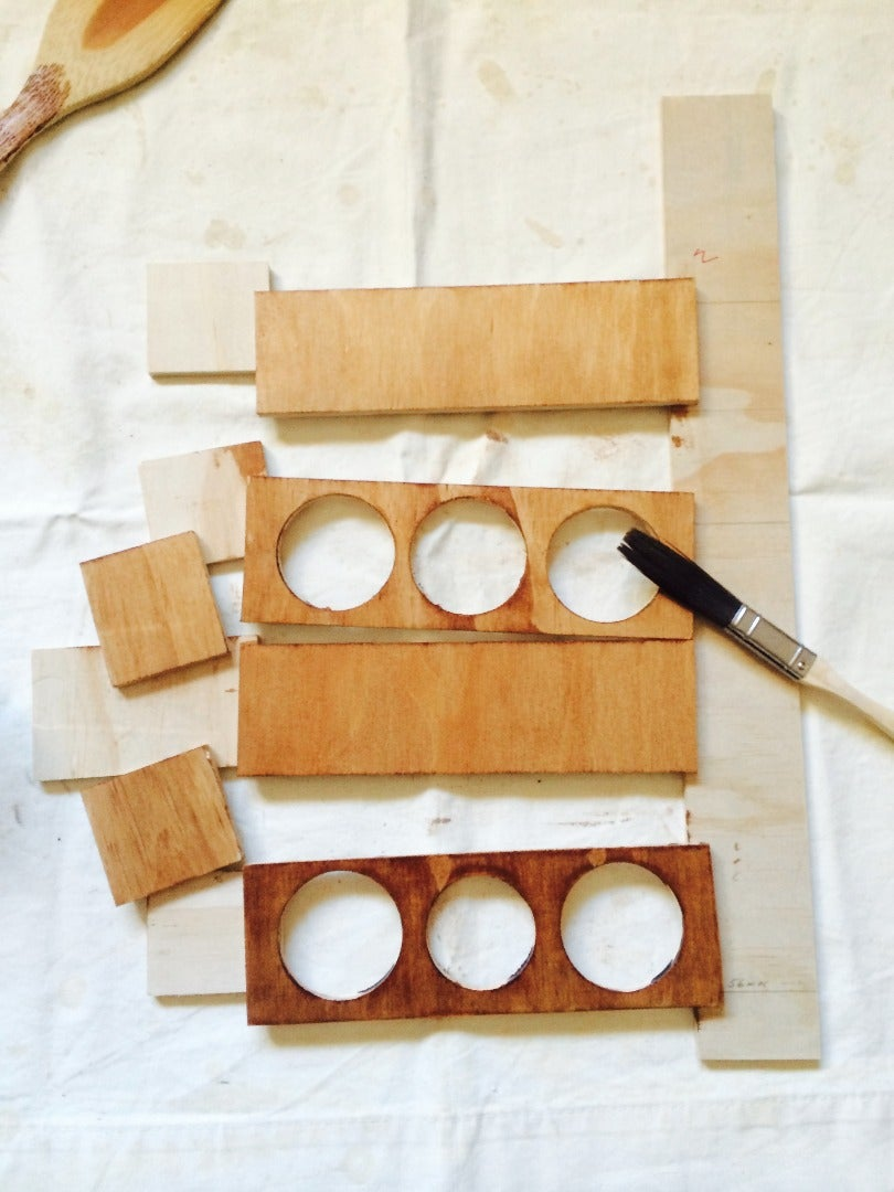 Preparing the Wood - Staining, Varnishing or Painting