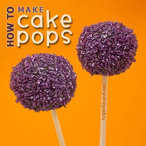 How to Make Cake Pops Step-By-Step