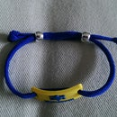 Adjustable Bracelet from Leftovers