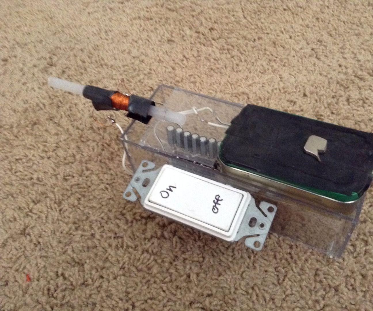 Disposable Camera Coil Gun
