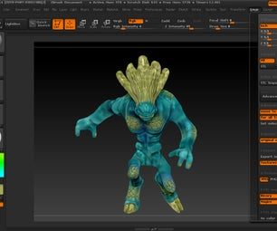 Creating a 3D Print From Start to File Using Zbrush for Beginners