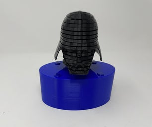 Darth 3.0: a 3D Printed Animated Darth Vader Helmet.