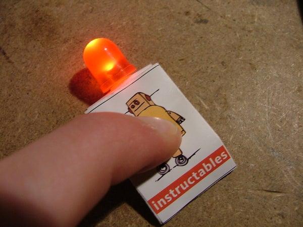 Instructables Robot Paper LED Flashlight