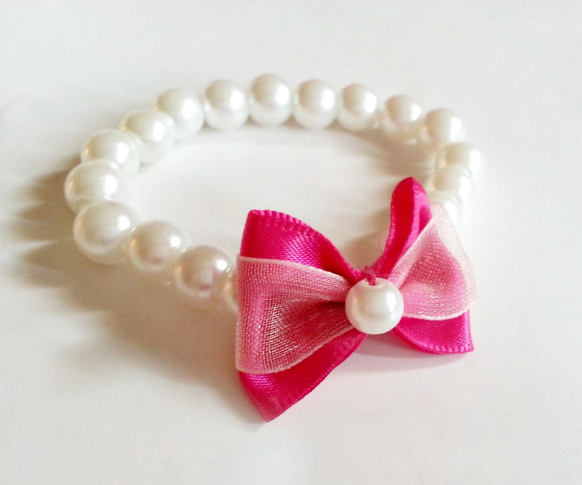 DIY Cute Bow Bracelet