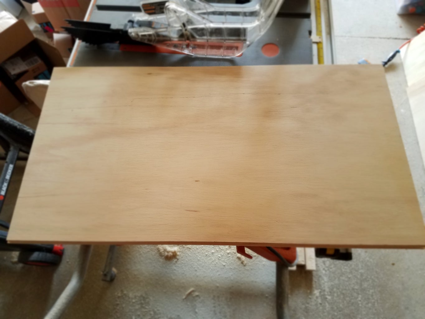 Cut Plywood for Outer Box