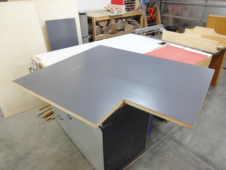 Finishing the Panels