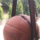 Upcycled Basketball Bag