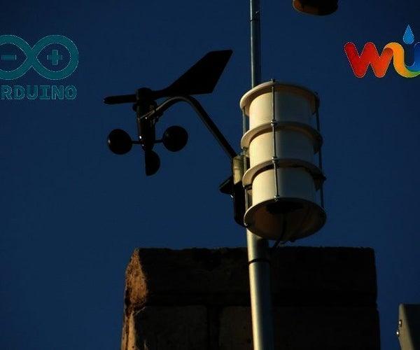Arduino WiFi Wireless Weather Station  Wunderground