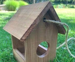 Fly-Through Bird Feeder