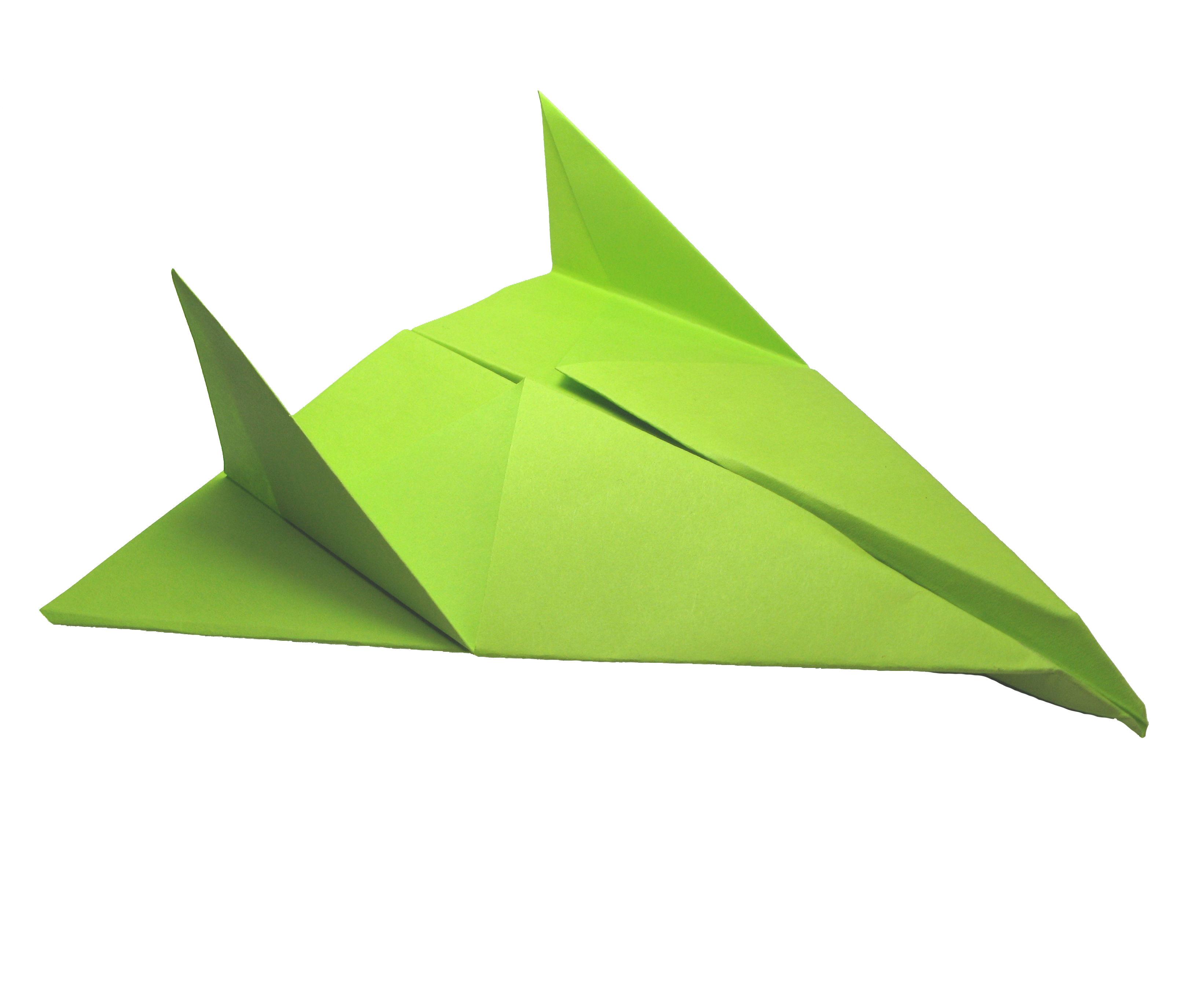 Origami Paper Airplane: Thunder Bomber