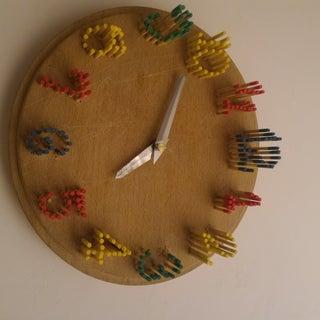 3D Rainbow Clock