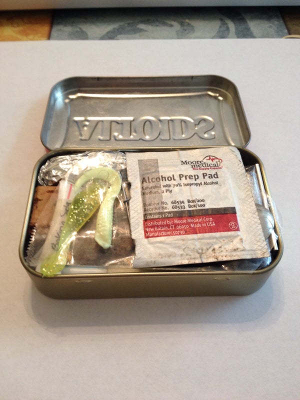 Altoids Tin Survival Kit V2