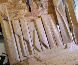 Hand Carved Door Pulls