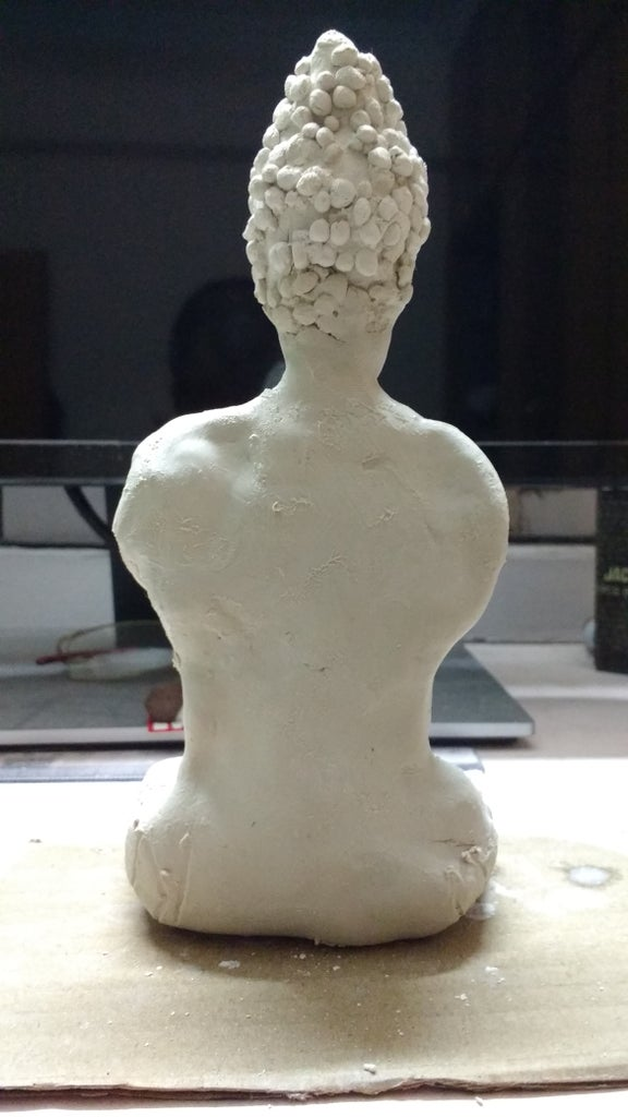 Step-3: Carving Body!