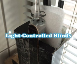 Light-Controlled Blinds