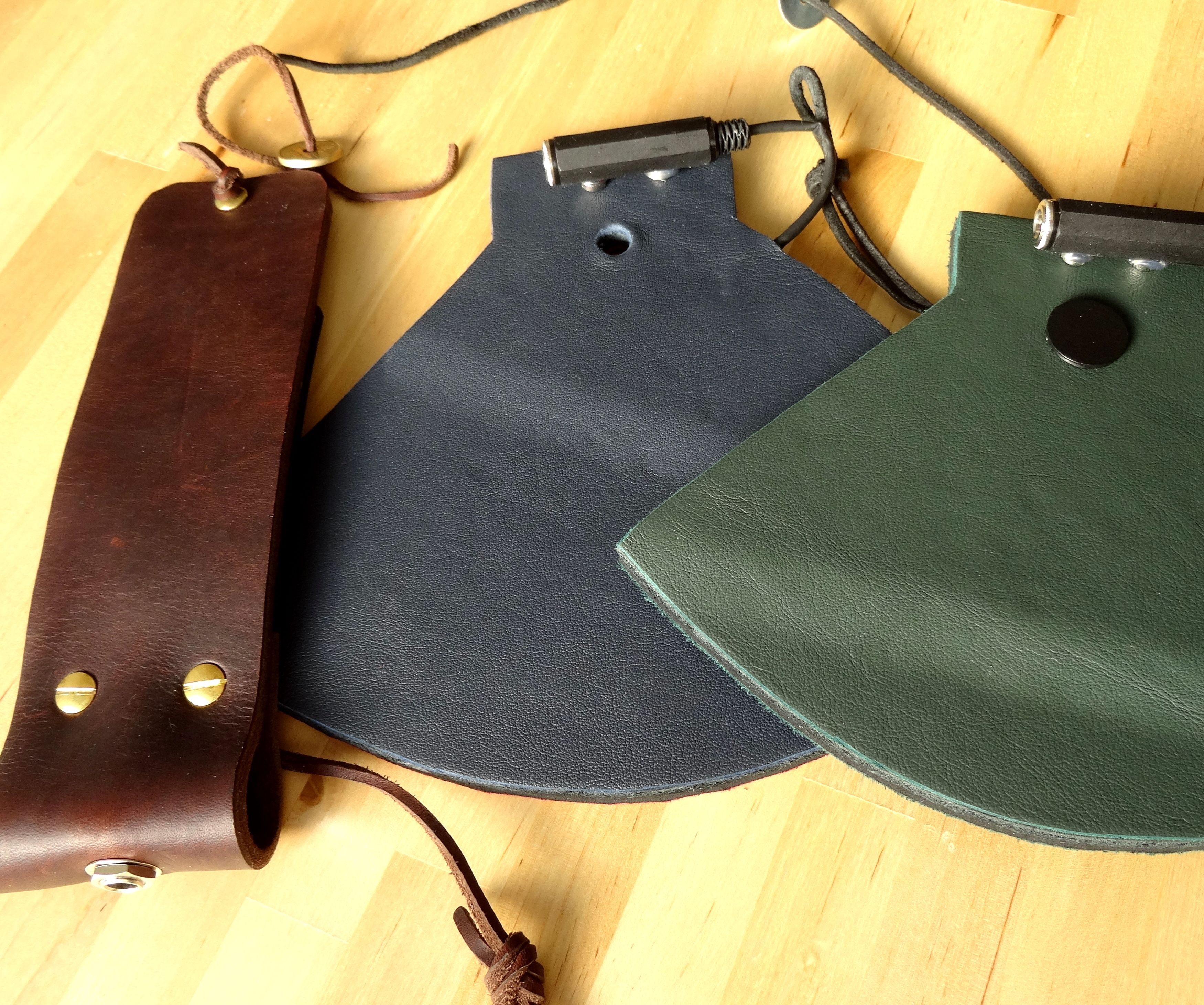 DIY Leather Pads - How to Make Sound With Leather and Piezoelectric