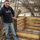 Home Compost Bin - Clean Up Yard Debris