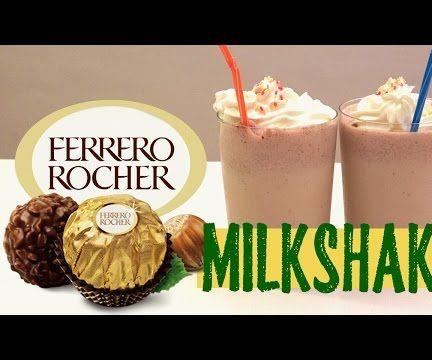 Ferrero Rocher Milkshake DIY Very Yummy
