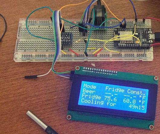 WiFi BrewPi Fermentation Temperature Controller with ESP8266