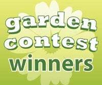 Garden Contest Winners