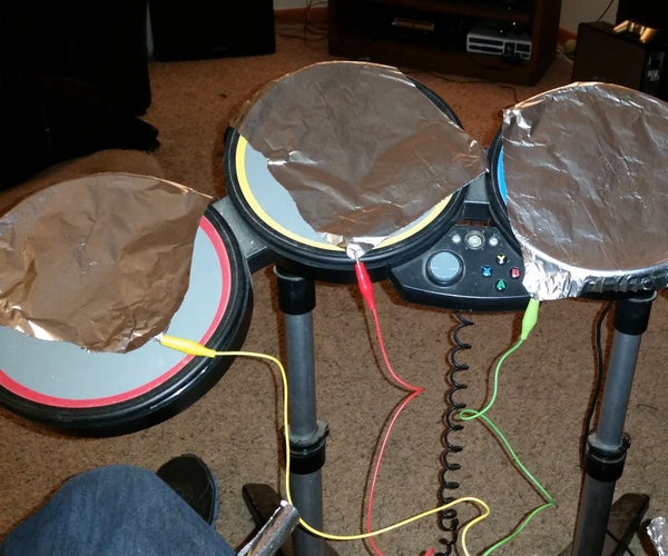 How to Make a Simple Electronic Drum Kit With a Twist