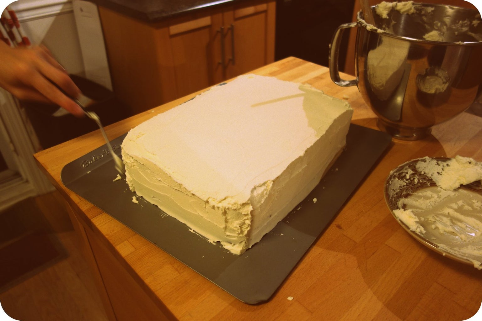 Baking the Cake