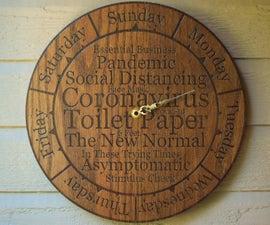 Quarantine Clock