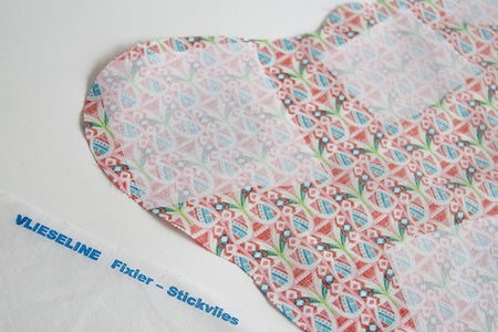 Iron-on the Applique Shapes