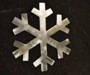 How to Make a Metal Snowflake